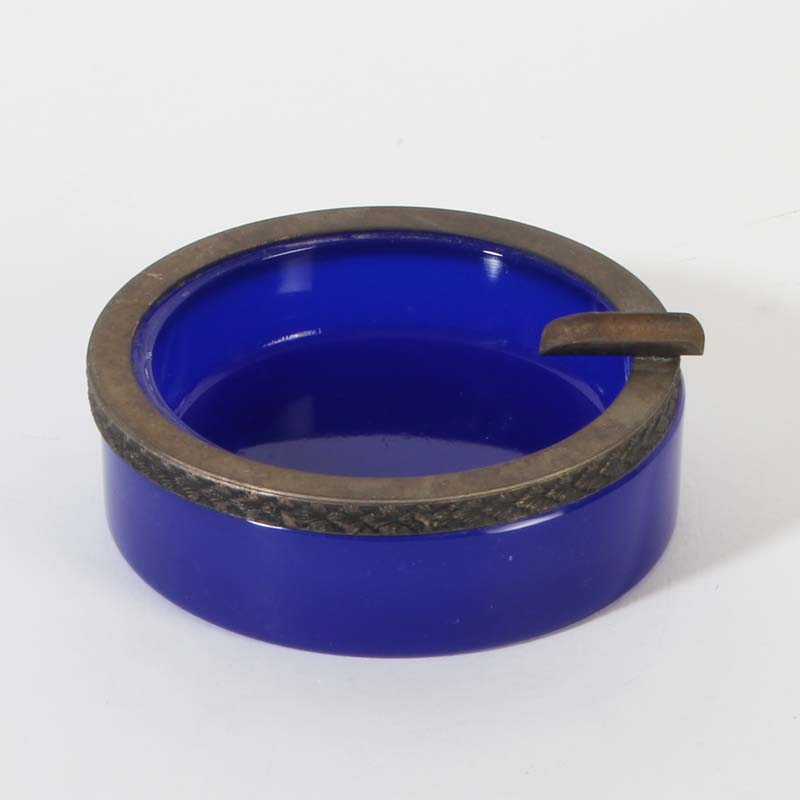French opaline ashtrays and bowls